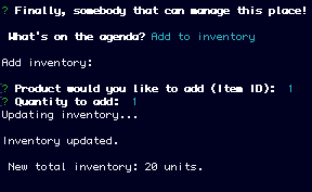 Image of Low Inventory
