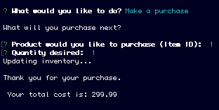 Image of Make Purchase