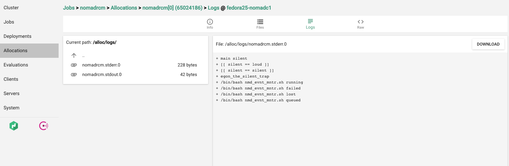 Github multipathmaster nomadrcm a nomad monitoring for Nomad service
