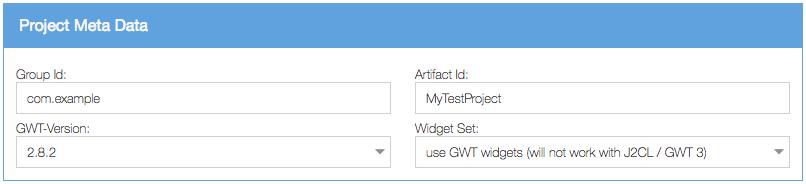 Project Meta Data