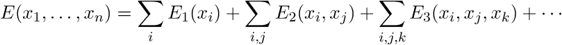 Multibody expansion formula
