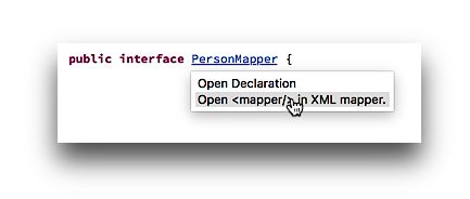 link to xml mapper