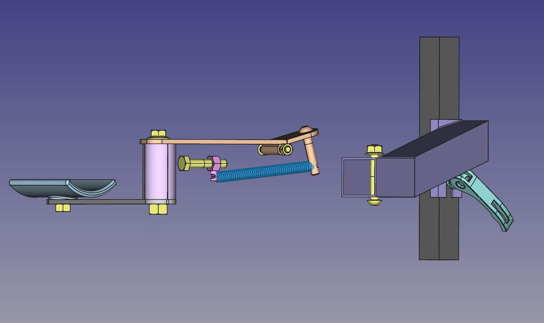 Annexe2 vue eclatée du mécanisme du bras compensateur
