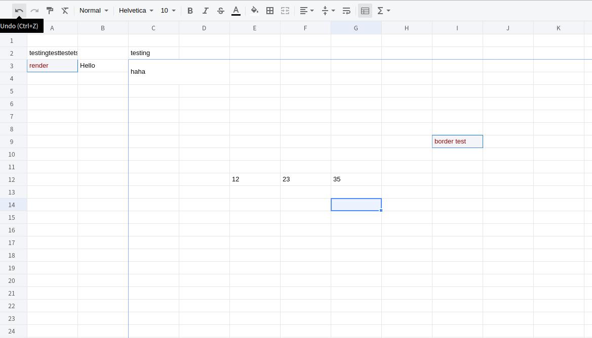x-spreadsheet