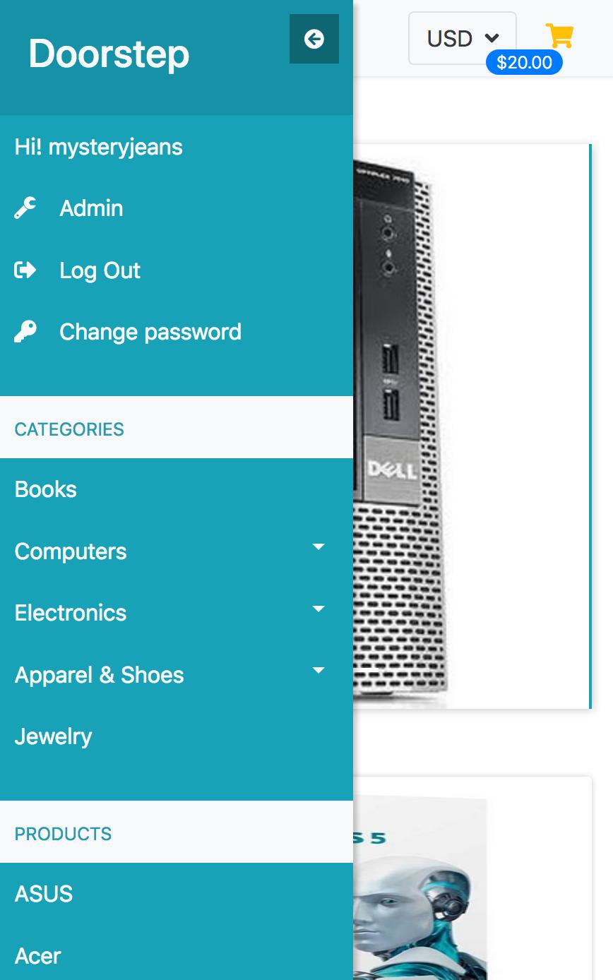 Doorstep Demo Screenshot