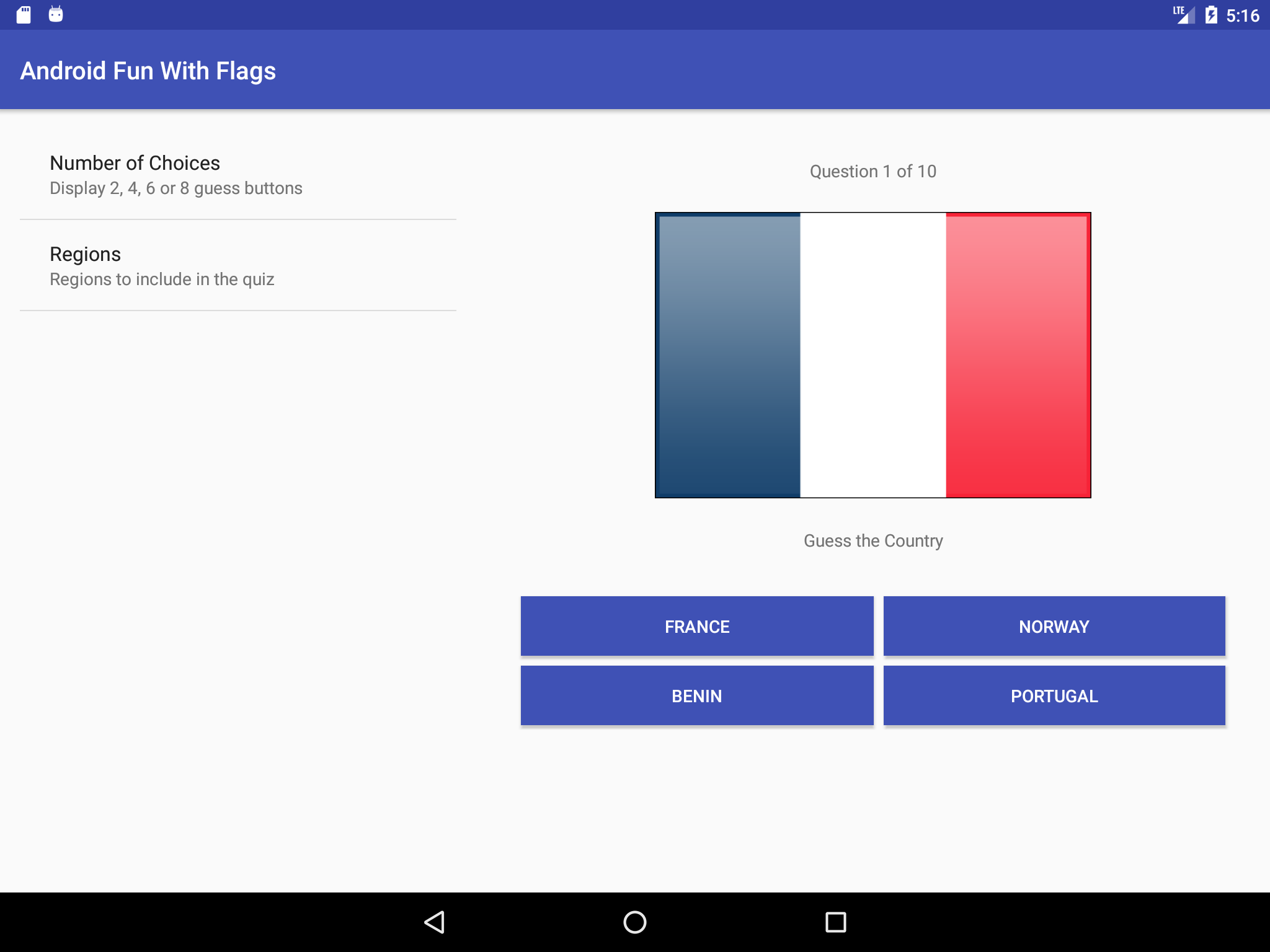 GitHub - nadershamma/android-fun-with-flags-quiz-app: Simple