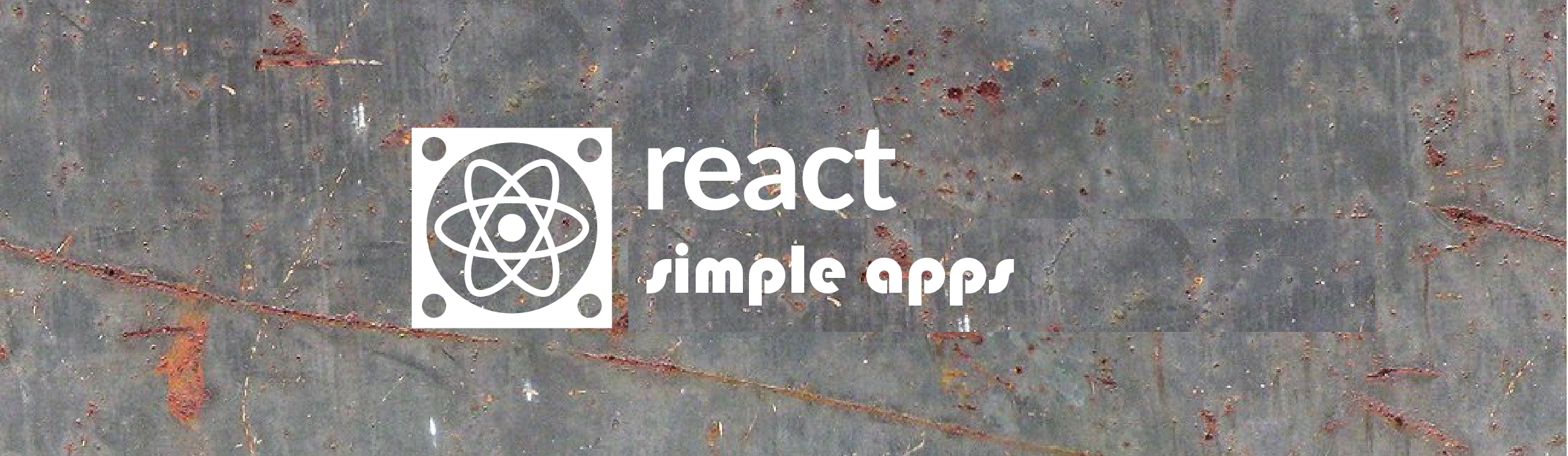 react simple apps