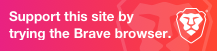 Support me on using Brave Browser