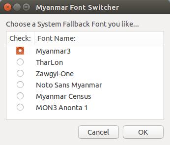 myanmar-font-switcher