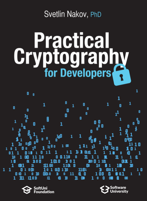 Practical Cryptography for Developers - Free Book by Svetlin Nakov - front cover