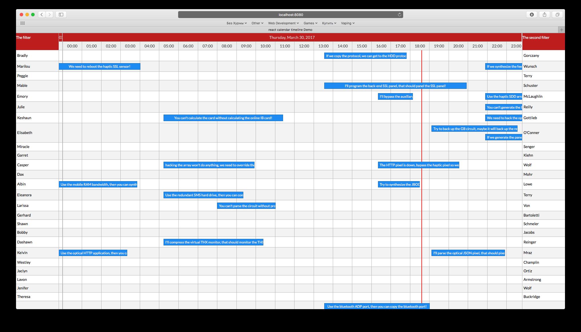 react-calendar-timeline - npm