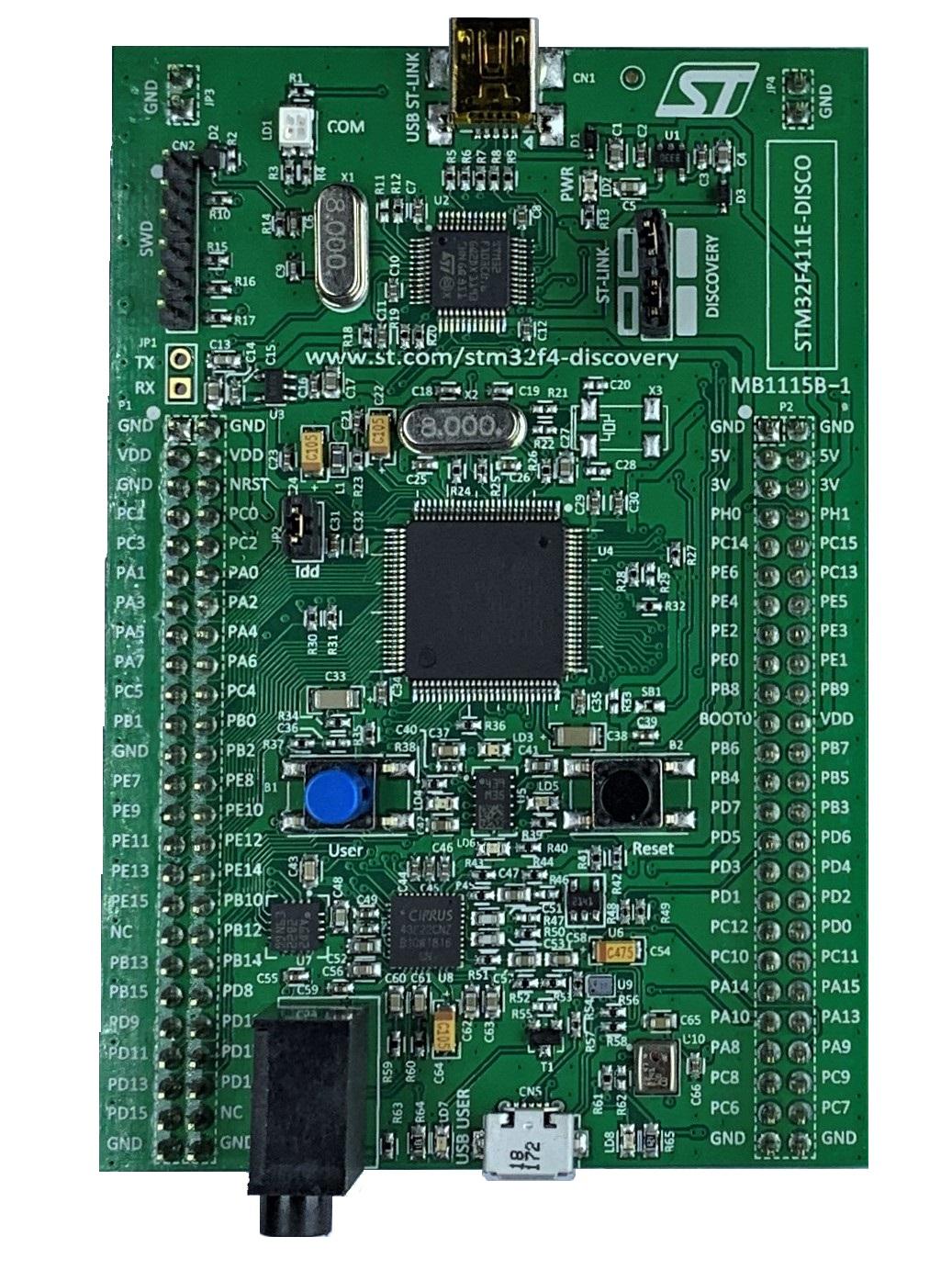 STM32F411E-DISC0