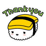 thank you/thanks/gyoku