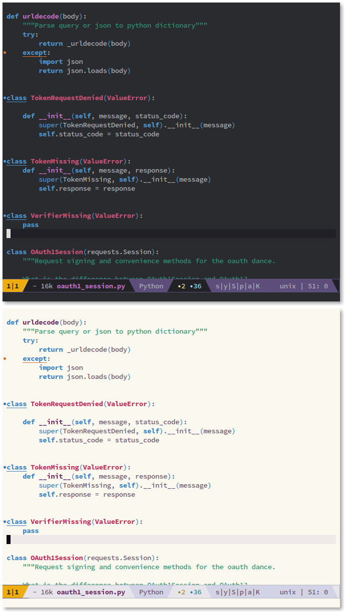 46 Best color themes for text editors as of 2019 - Slant