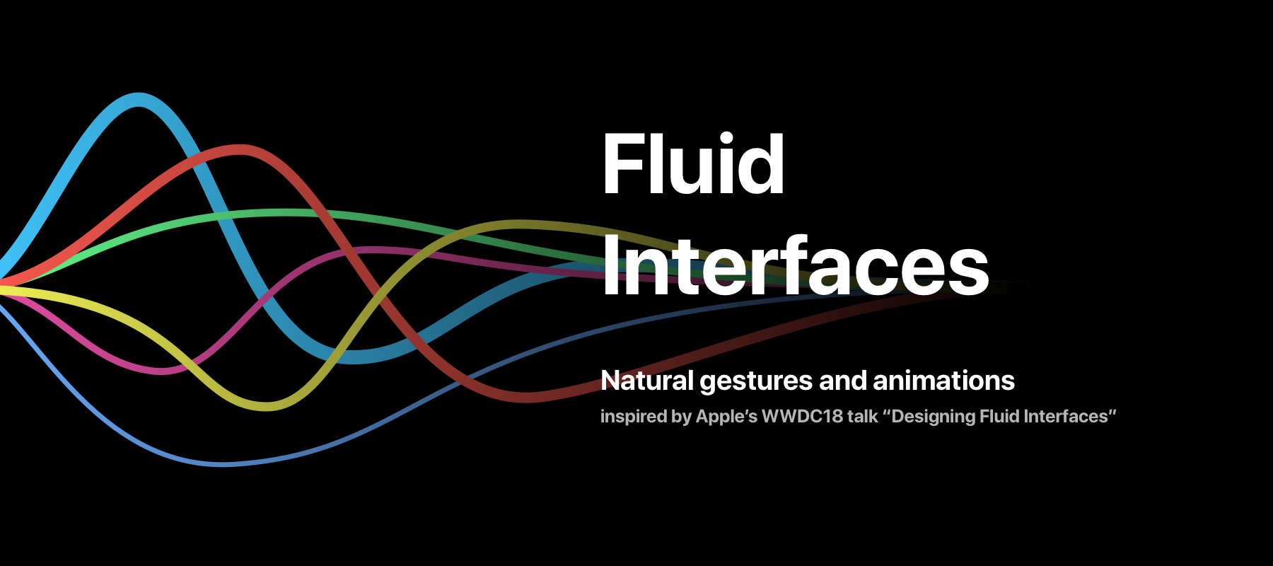 Fluid Interfaces Title Graphic