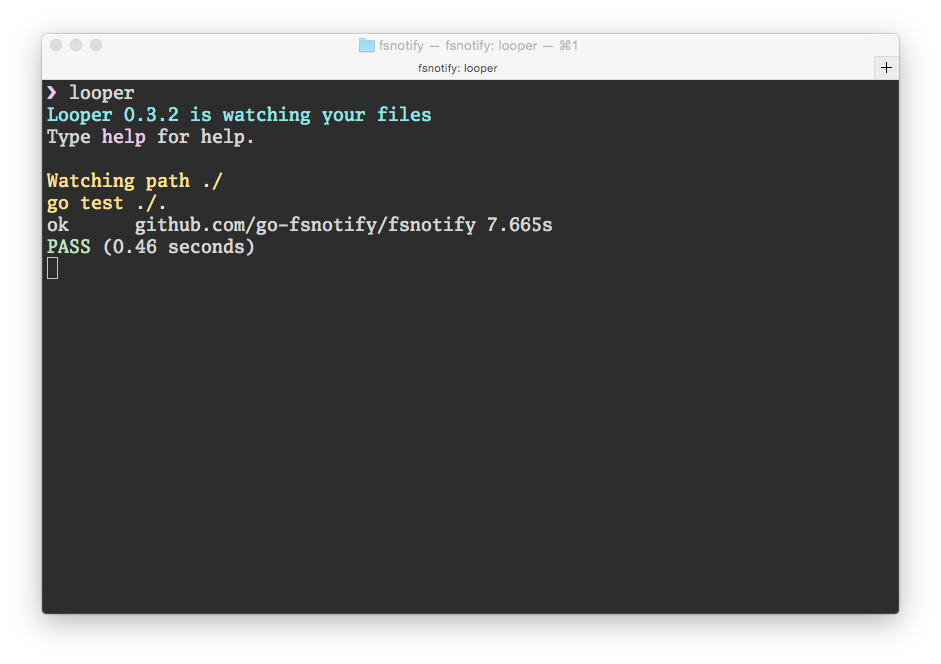 Looper screenshot