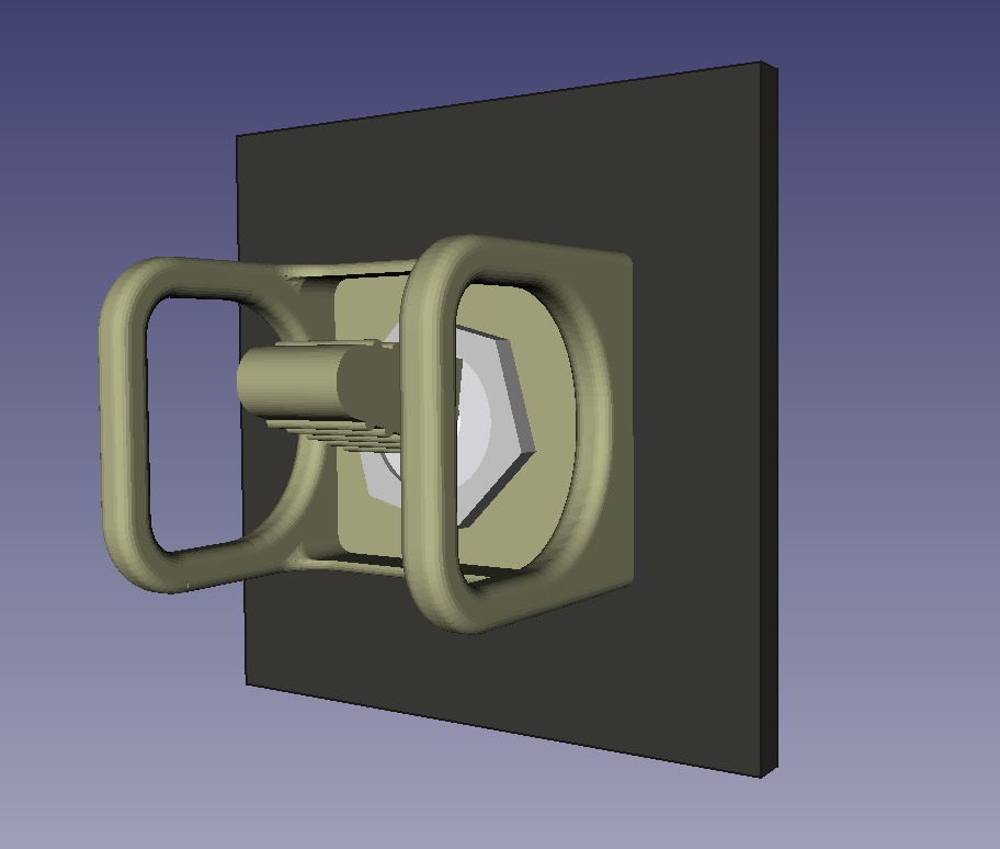 An example in a CAD model