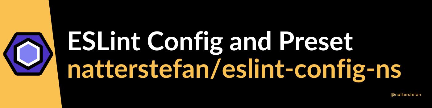natterstefan/eslint-config-ns