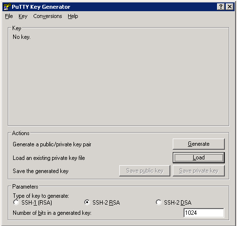 Howto: Creating and using OpenStack SSH keypairs on Windows