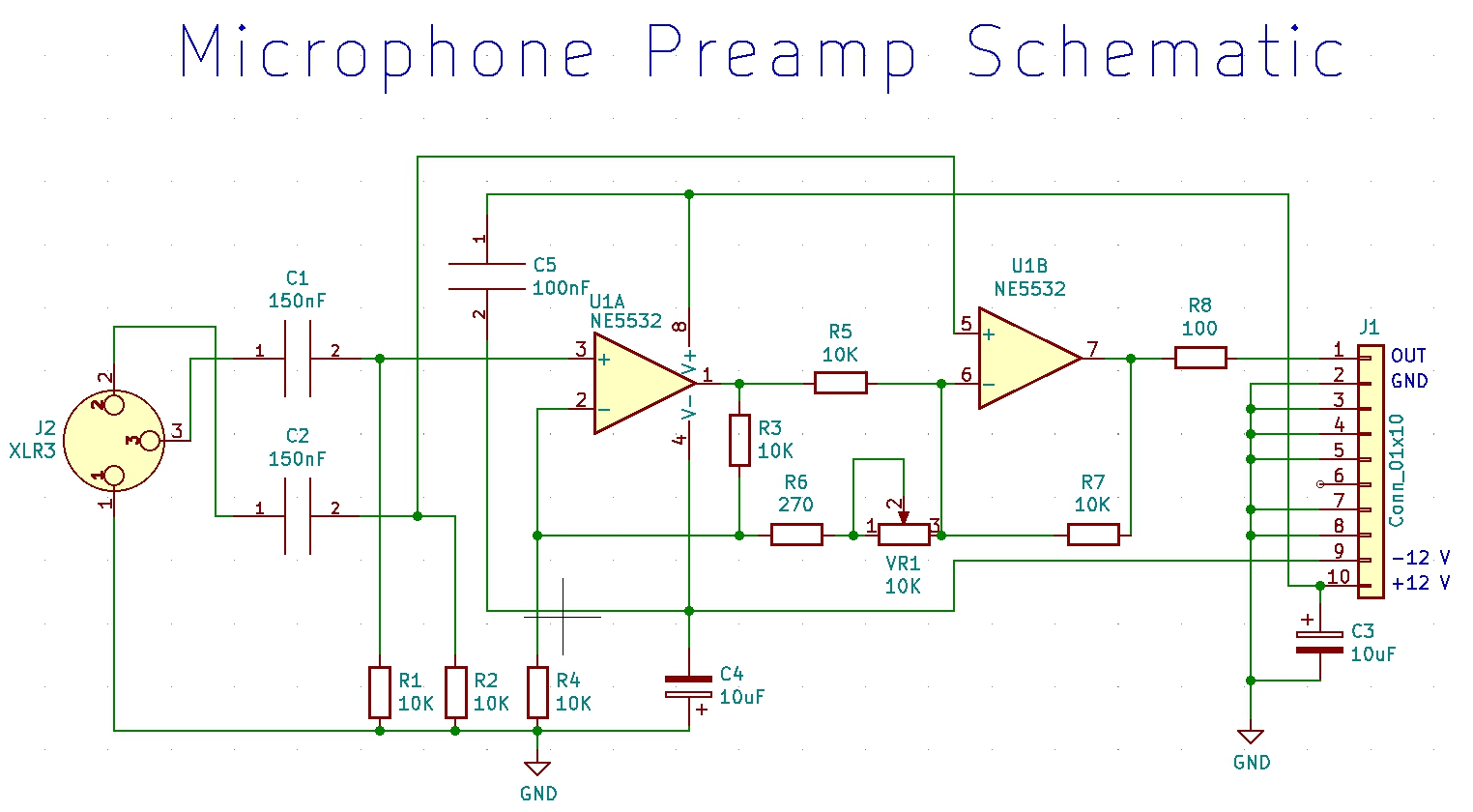 GitHub - naufalboys/Mic-Preamp: A simple mic preamp for ... on receiver schematic, vibrato schematic, wireless schematic, reverb schematic, power schematic, amp schematic, switch schematic, tremolo schematic, rectifier schematic, keyboard schematic, input schematic, speakers schematic, computer schematic, distortion schematic, compressor schematic, radio schematic, guitar schematic, tube schematic,