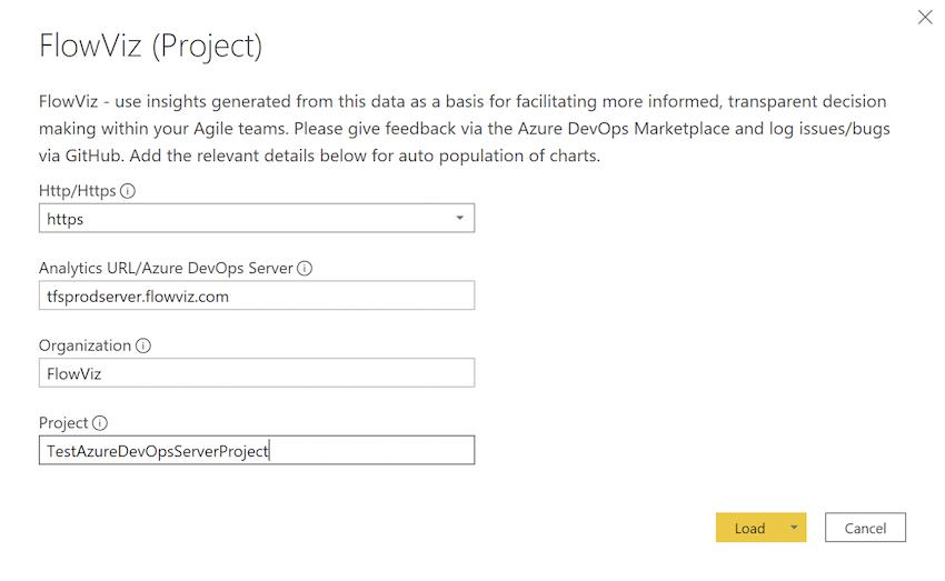 example Azure DevOps Server connection