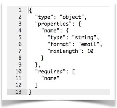 json-schema sample