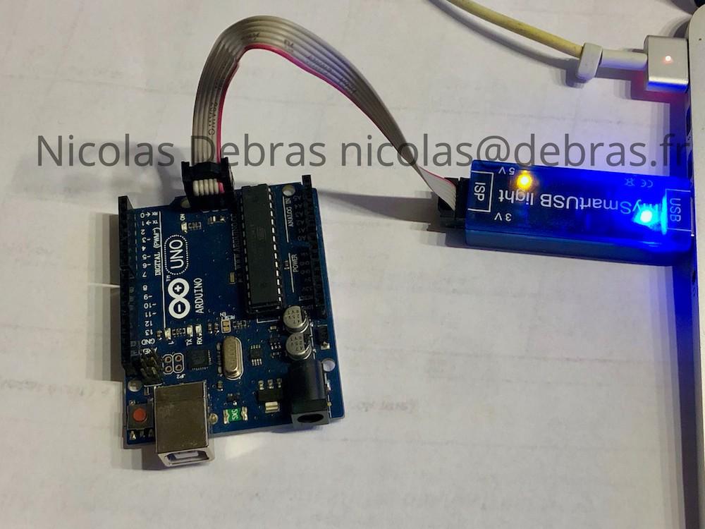 Arduino AVR ISP Flash