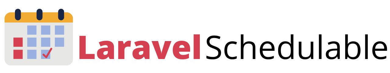 Laravel Schedulable Logo