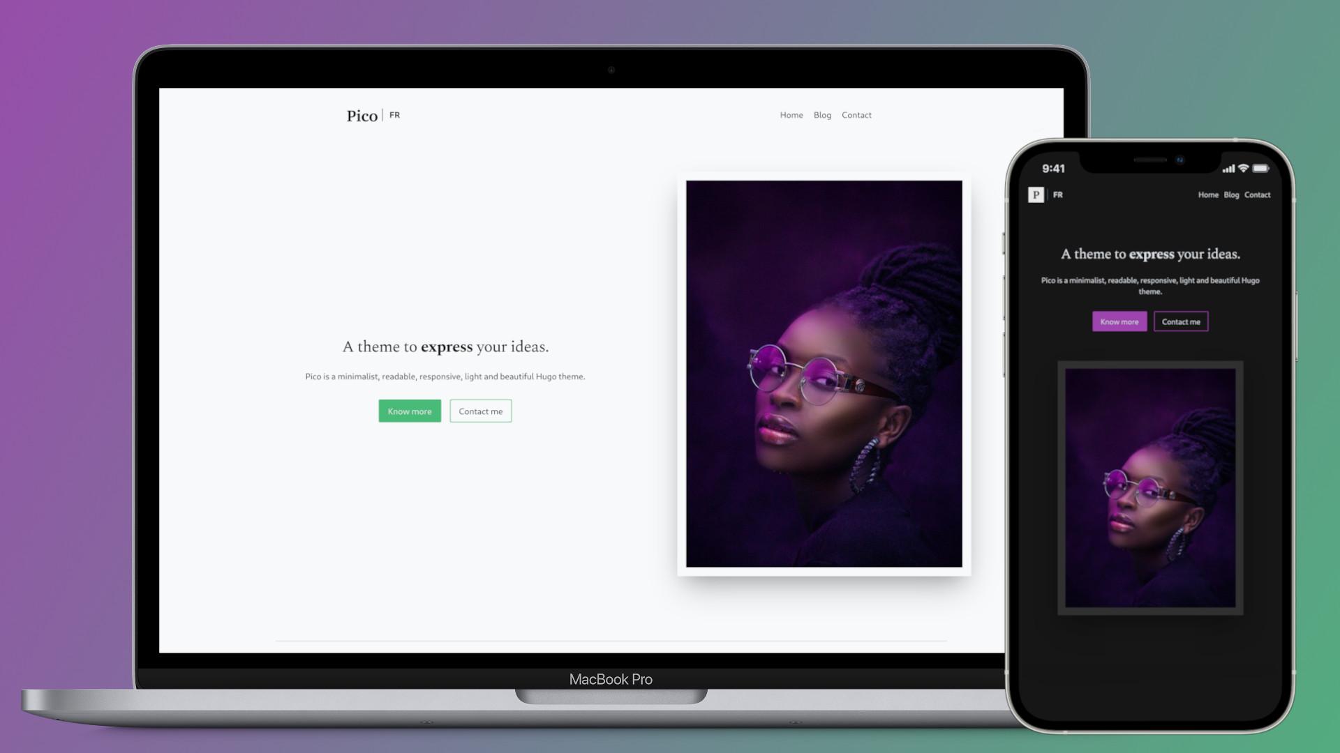 pico example screenshot