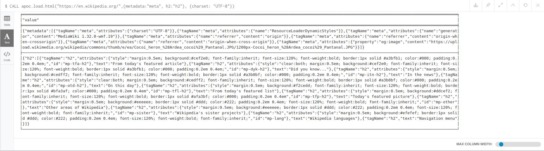 apoc.load.htmlconfig
