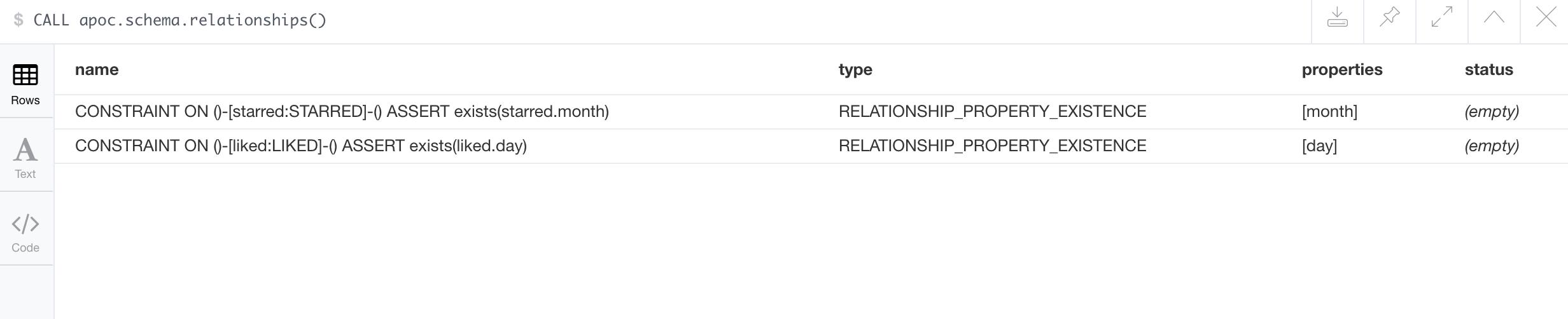 apoc.schema.relationships