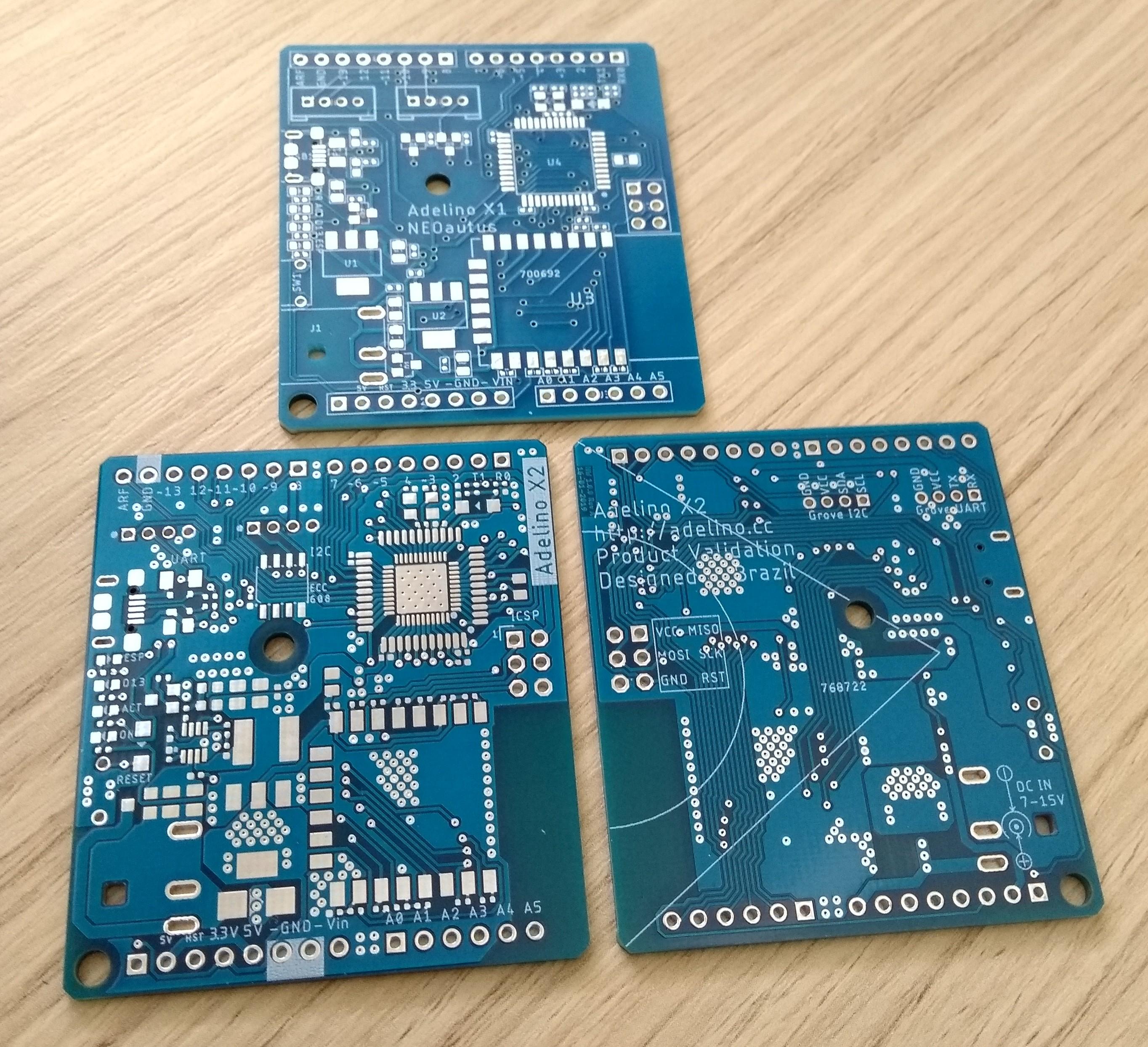 Adelino X2 PCBs