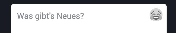 Toot mit eigenen Emoji