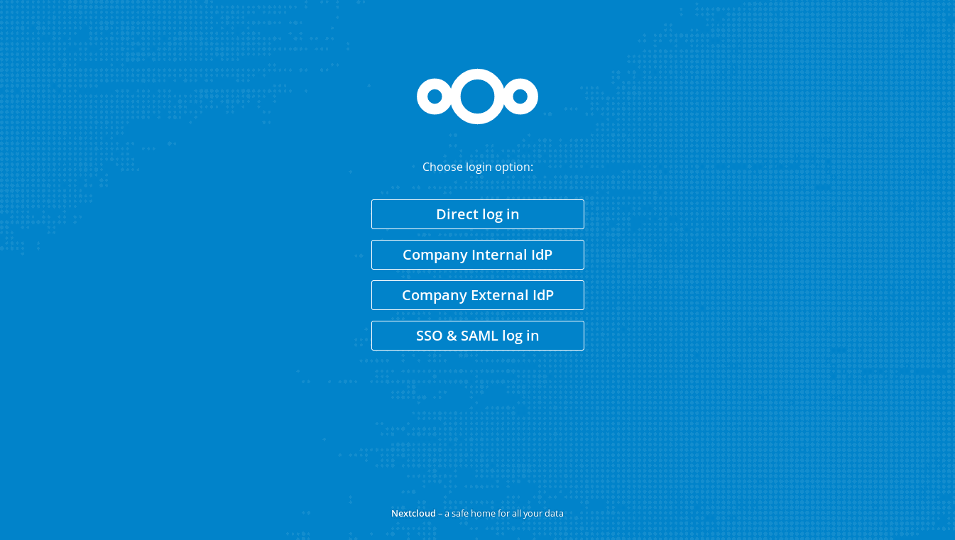 SSO & SAML authentication - Apps - App Store - Nextcloud