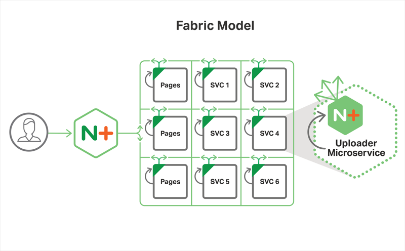 Fabric Model from Microservices Reference Architecture