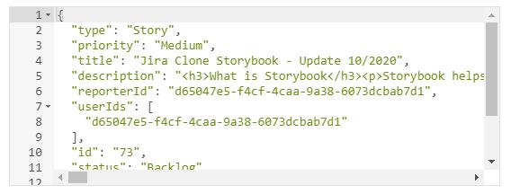 object data type