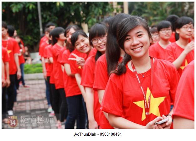Ao phong co Viet Nam danh cho phuot thu