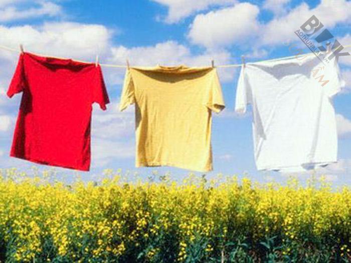 Tư vấn cách giặt áo nhóm luôn bền đẹp