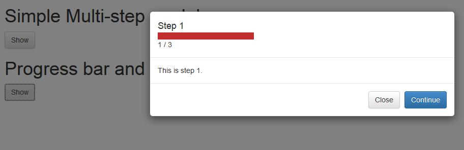 GitHub - ngzhian/multi-step-modal: Multi-step modals for