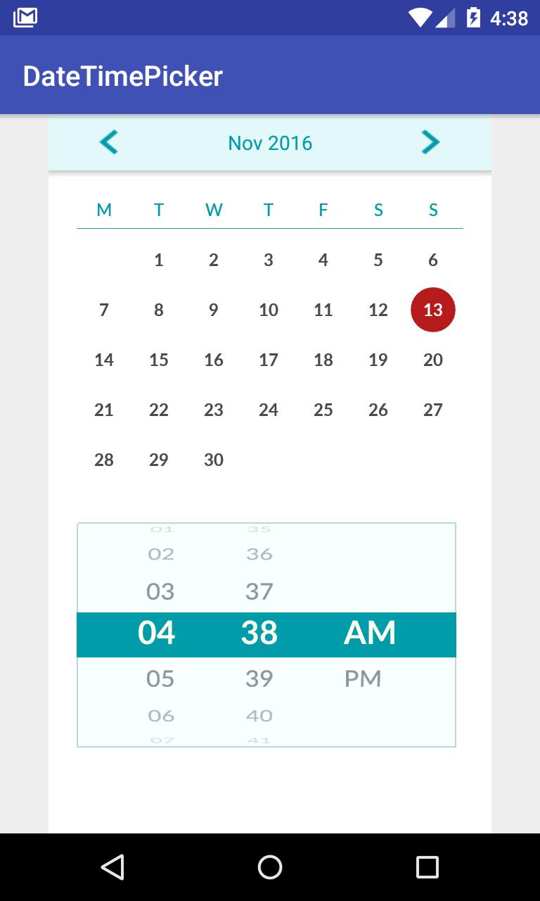 Android calendar github