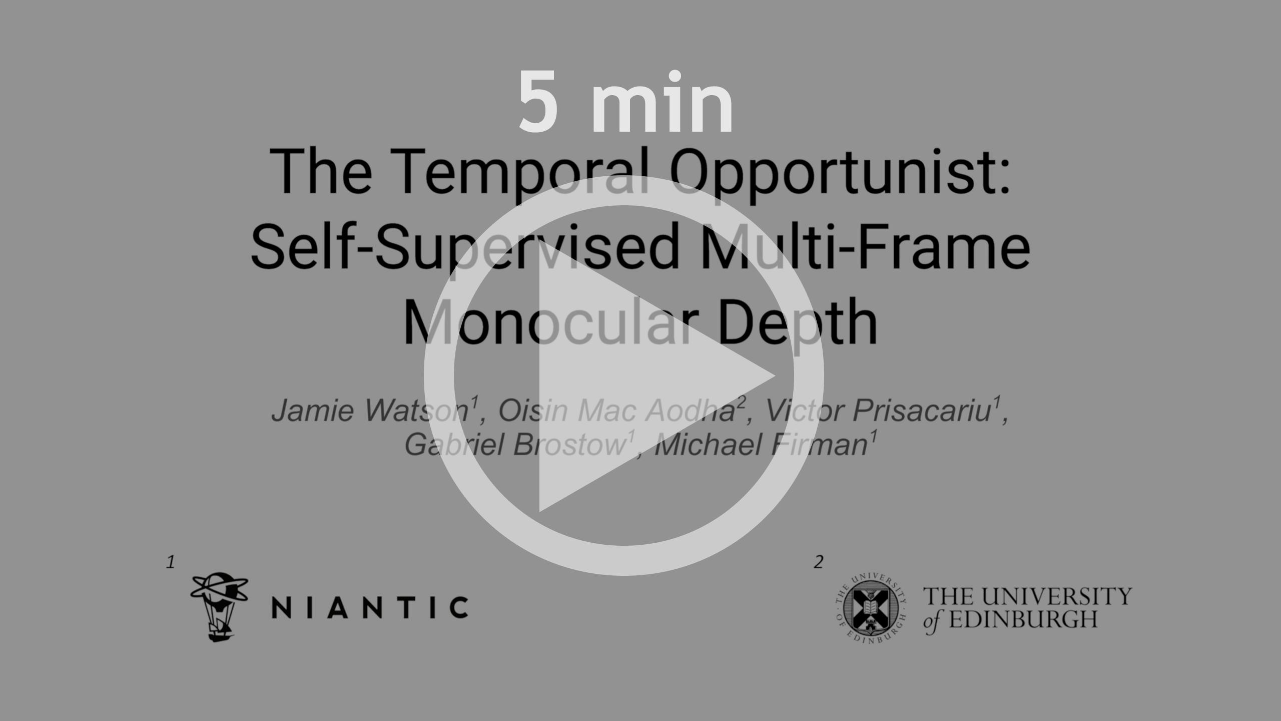 5 minute CVPR presentation video link