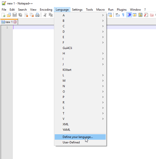 Installing Tradingview Pine Script UDL file in Notepad++