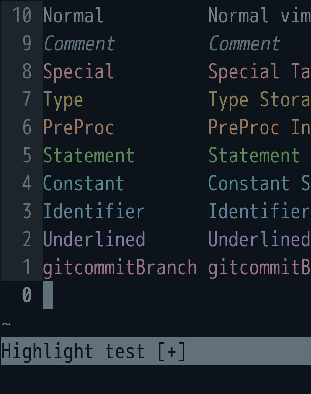 screenshot of storm petrel, the low-saturation dark seabird theme