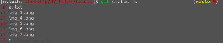 status-short