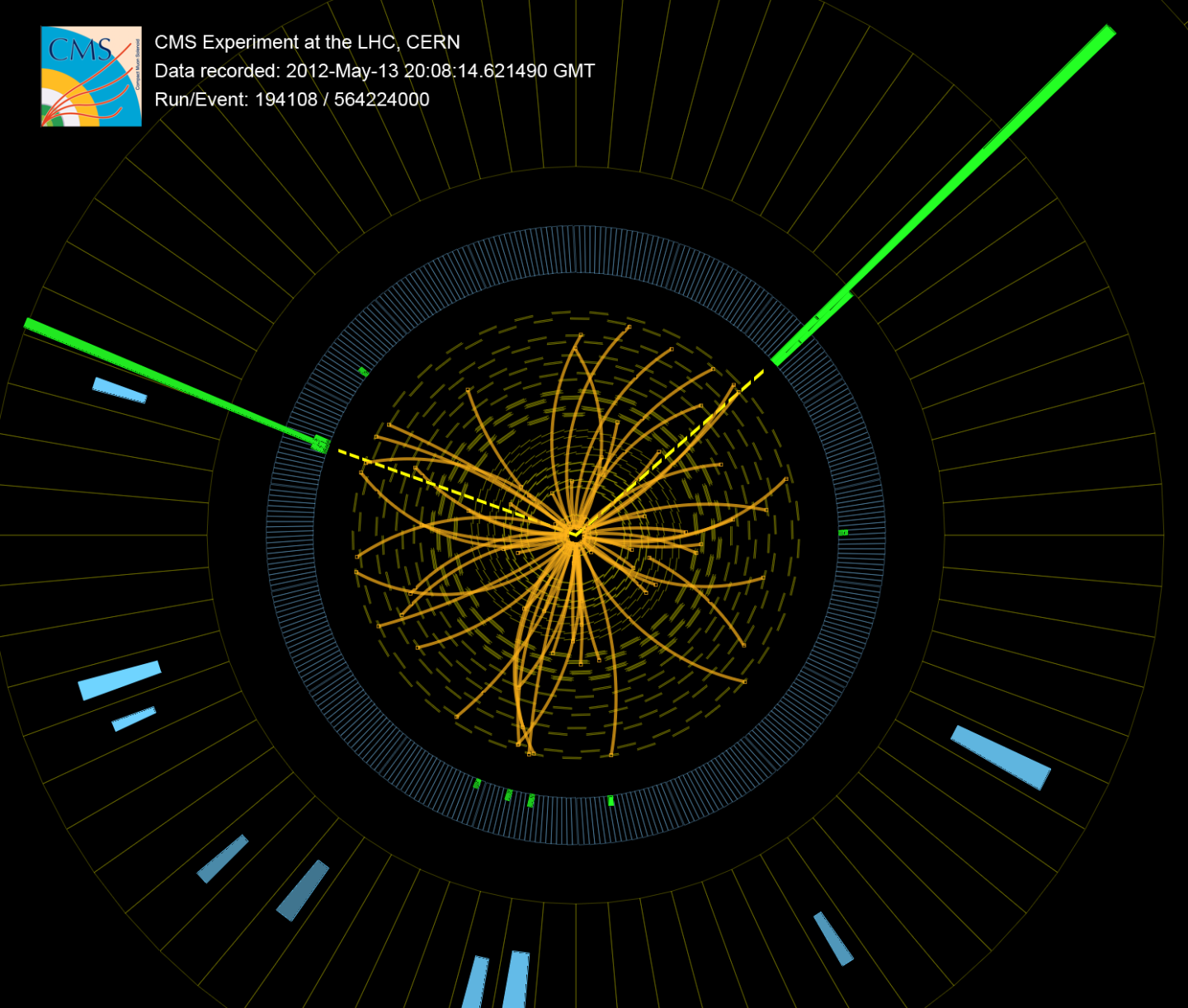 Higgs diphoton event