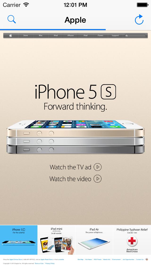 iOS ScreenShot 1