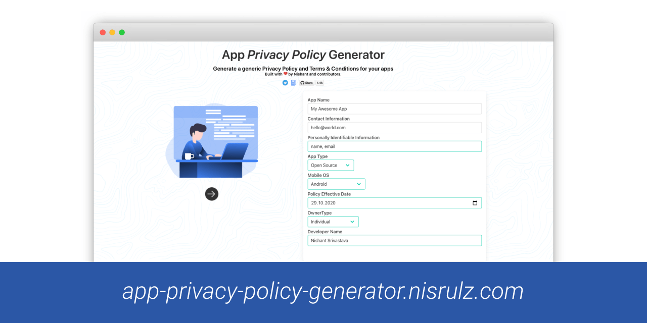 App Privacy Policy Generator