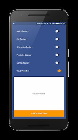 Android Sensor Detectors