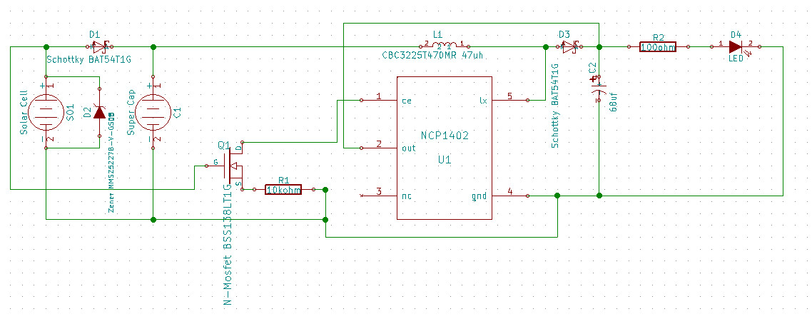 Trying to build a supercapacitor powered solar light - Page 1