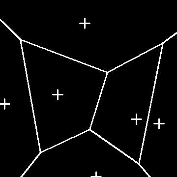 Python OpenCV Voronoi